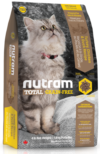 Nutram Grain Free Cat Turkey & Chicken