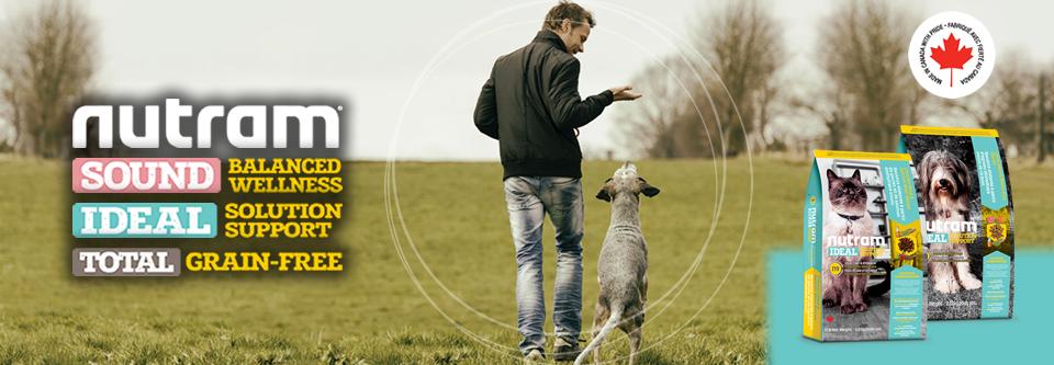 NUTRAM Канадски холистични, натурални, БЕЗ ЗЪРНО храни за кучета и котки